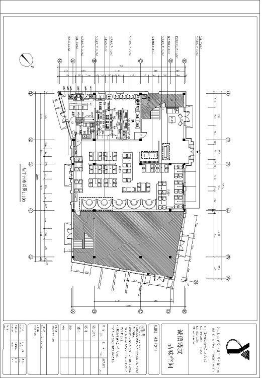 月湖公园平面图图片分享 其他餐饮空间装修施工图高清图片
